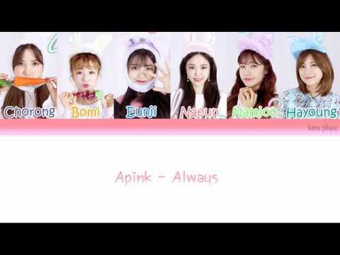 Apink (에이핑크) - Always Lyrics (Han|Rom|Eng|COLOR CODED)
