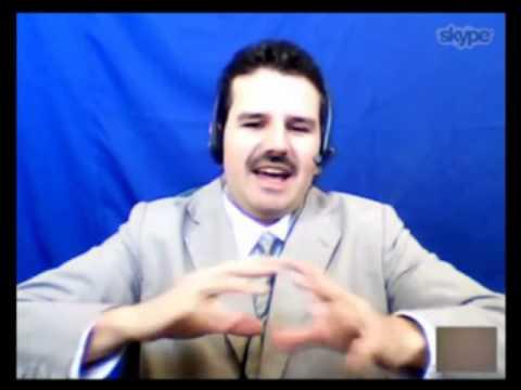 """Via Skype o """"Pastor Arnaldo"""" visita o Papo de Graça e conversa com o Caio ao vivo."""