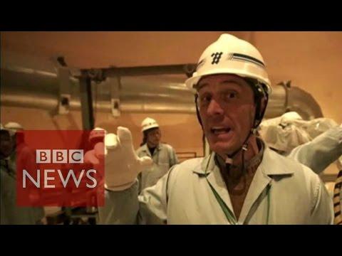 Japan: First look inside Sendai world's 'safest' nuclear plant - BBC News