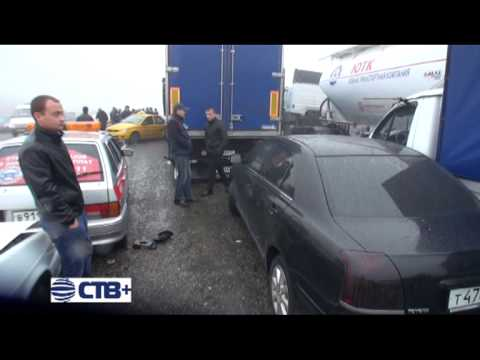Крупное ДТП на федеральной трассе «Кавказ»