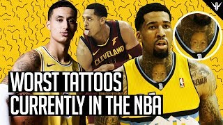 7 of the WORST Tattoos in the NBA Pt.2