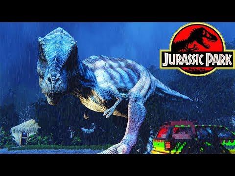 Побег Ти-Рекса из Фильма Jurassic Park - МИНИ ИГРА