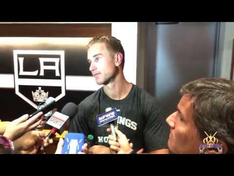LA Kings Forward Jeff Carter, October 16, 2014