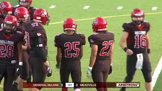 High School Football: General McLane-Meadville (Sept 7, 2018)
