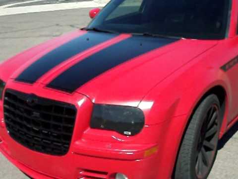 Black Jeep Cherokee >> Custom 300c srt8 flat red paint!! - YouTube