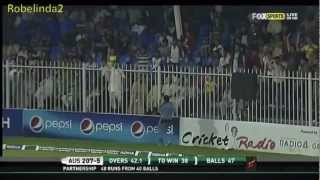 Glenn Maxwell 56* off 38 balls vs Pakistan 720p HD, 3rd ODI 2012