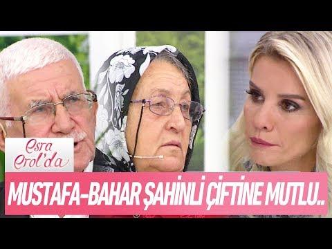 Mustafa-Bahar Şahinli çiftine mutlu haber - Esra Erol'da 6 Kasım 2017