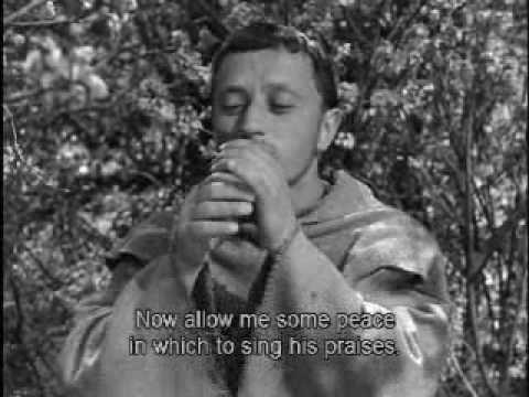 The Flowers of St. Francis (Roberto Rossellini, 1950)