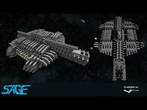 Space Engineers, Splitter Warship