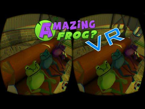 Amazing Frog in VR (Oculus DK2) - Shark O mania