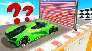 SUPER CAR vs. LASERS Is A Bad IDEA! (GTA 5 Races)