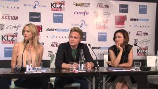 David Anders ,Jessica Schram , Keegan Connor from Once Upon ...