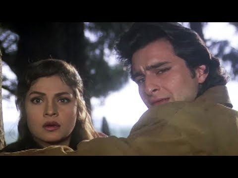 Saif Ali Khan And Pooja Bhatt Fall For Each Other - Sanam Teri Kasam, Romantic Scene 3/10