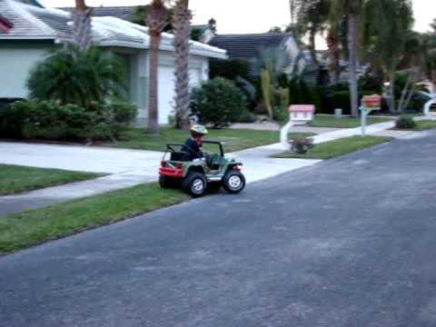 How to Convert a 12 volt Power Wheels to 24 volt