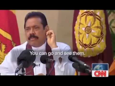 Mahinda Rajapaksa Does It Openly