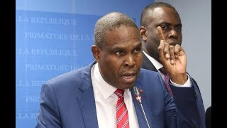 VIDEO: Haiti PM Jean Henry Ceant - Point de Presse PetroCaribe (Oct 22 2018)