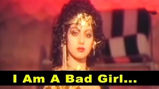 I Am A Bad Girl - Shailendra Singh, Alisha Chinai @ Guru - Mithun, Sridevi