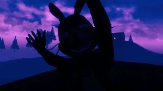 SHADOW SPRING BONNIE FOUND WHILE HACKING THE MAP | Five Nights at Freddy's VR Curse of Dreadbear