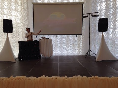 Диджей (Москва) с аппаратурой, диджей на свадьбу, диджей на праздник