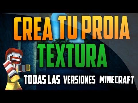 Como Crear un Pack de Texturas Para Minecraft   Todas las versiones