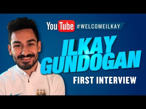 GUNDOGAN SIGNS! First interview as a Manchester City player!