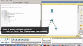 Packet Tracer IOS Cisco: password y banners en routers y switchs