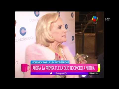 Mirtha Legrand prefirió evitar opinar del escándalo Barbie Vélez y Fede Bal