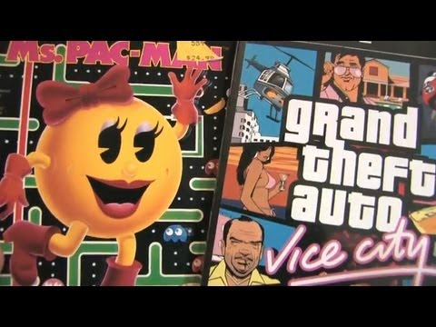 Room Design Games on Vs  Ms  Pac Man On Sega Genesis Packaging Review By Classic Game Room