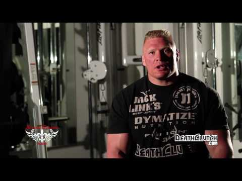 Brock Lesnar trains with Randy Couture at Camp DeathClutch