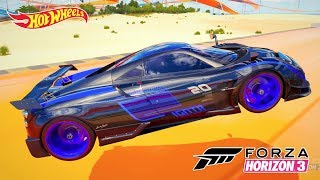 Pagani Huayra BC Jackson Storm Jogo Forza Horizon 3 Hot Wheels