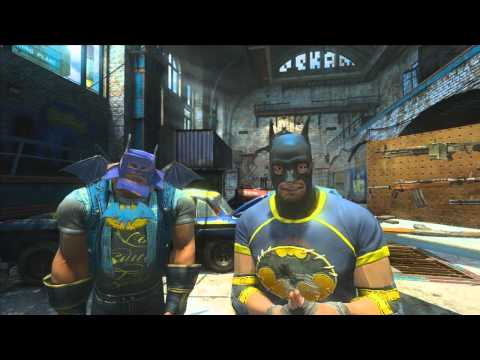 Gotham City Impostors 'Beta Announcement Trailer' TRUE-HD QUALITY