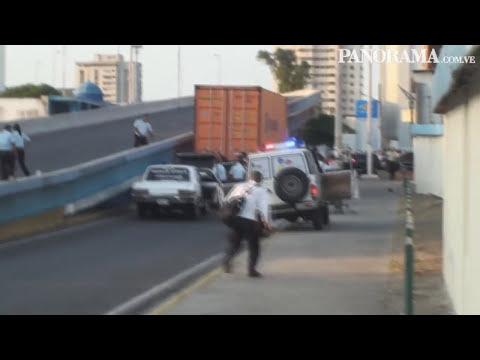 Tiroteo en pleno elevado de Delicias dejó un muerto