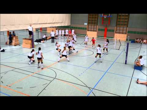 World sport festival '13 U15 jr Prima donna kaas volleybalschool - Nat.team Georgië 1-2
