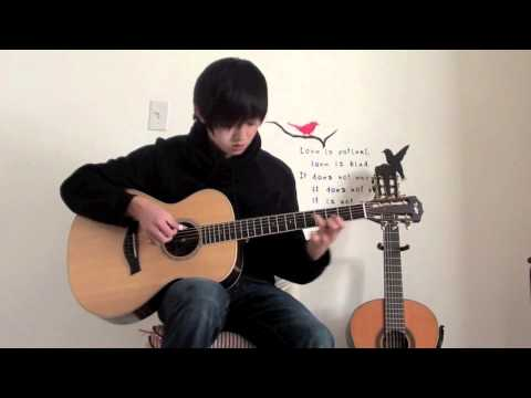 Sungmin Lee: Eric Clapton - 'Tears In Heaven' - Acoustic Fingerstyle Guitar Cover