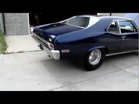Chevy Nova ss 1969  - new magnaflow mufflers :)