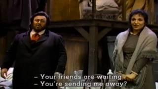 Luciano Pavarotti La Boheme O Soave Fanciulla