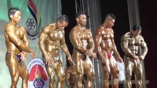 Pra-Pon Bodybuilding 2015 Comparisons Video 1