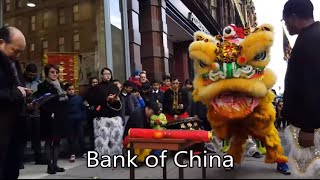 Bank of China Lion Dance