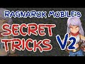 RO仙境傳說:5 SECRET TRICKS Version 2 in RAGNAROK MOBILE!