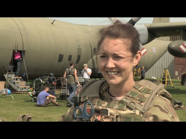 Lacey Turner talks about the new series of Our Girl - BBC One