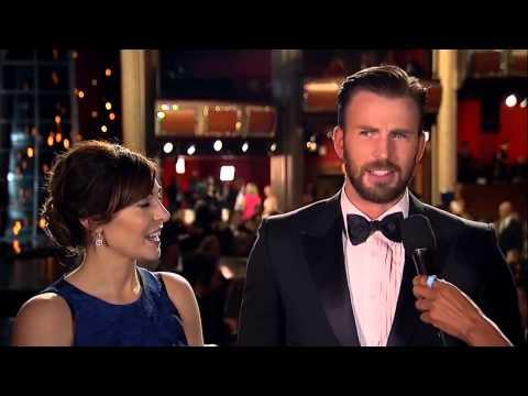 Oscars Red Carpet Chris Evans (2015)