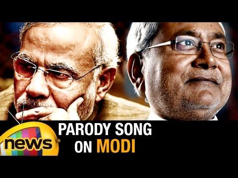 Nitish Kumar Parody Song on PM Narendra Modi   Bihar Election Campaign   Mango News