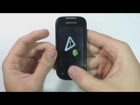 Samsung Galaxy 3 I5800 hard reset