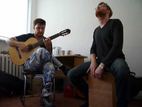 Gerardo Nunez - La fuente de la higuera (guitar&cajon cover)