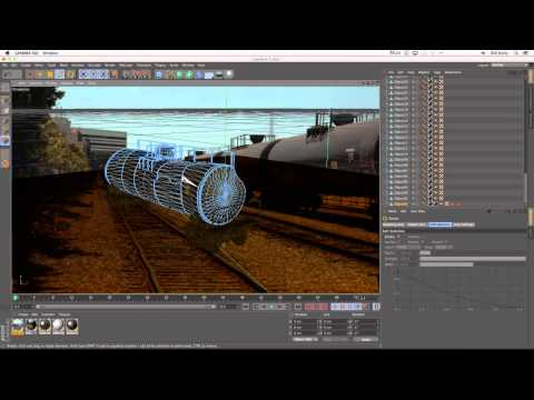 The Kellzone - Explosive Training for Cinema 4D - Tanker Explosion