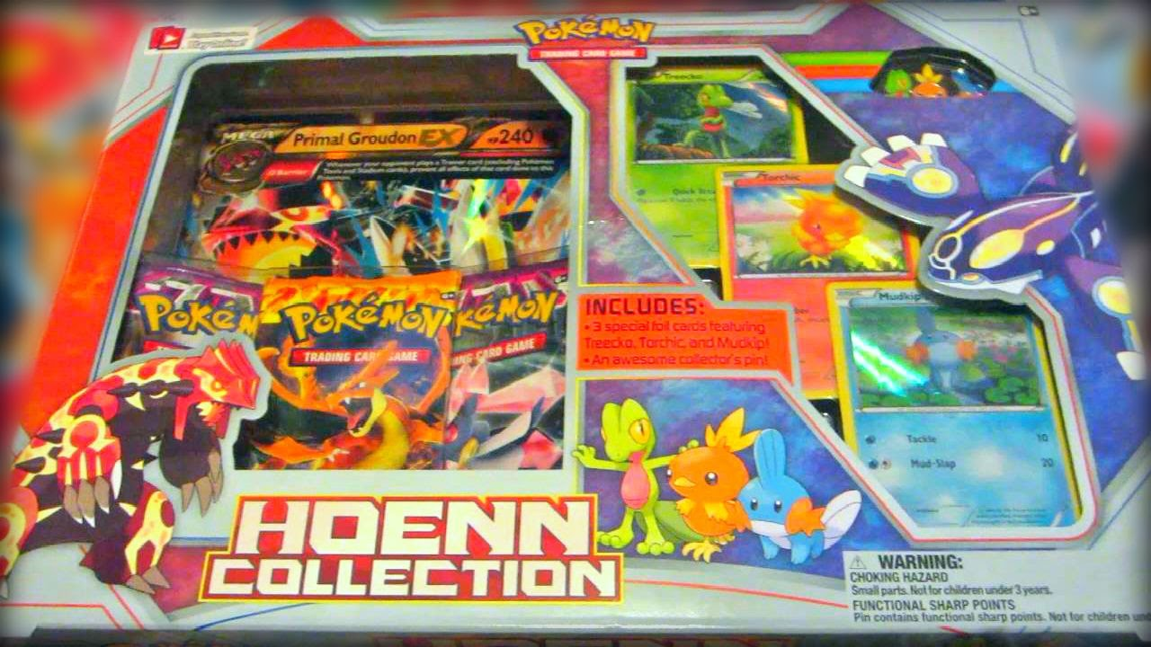 Opening A Groudon Reversion Primal Clash Hoenn Collection