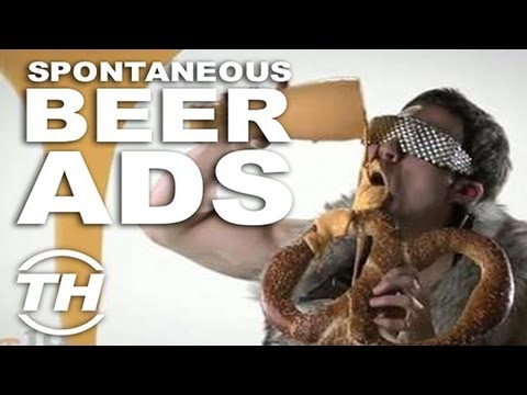 Spontaneous Beer Ads - Jamie Munro Explores Comical Alcohol Ads with These Funny Beer Commercials