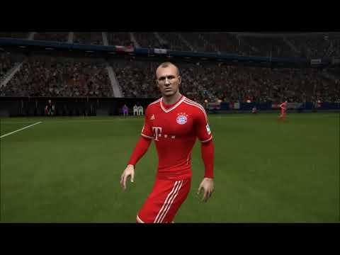 FIFA 14 PS4 - Gráfico dos Jogadores Bola de Ouro