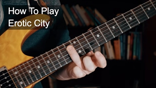 Watch Prince Erotic City video