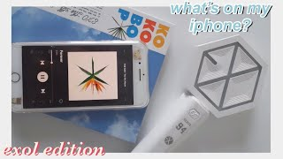 What's on my iPhone 7+ #KPOP EDITION (#exo-l) 💜